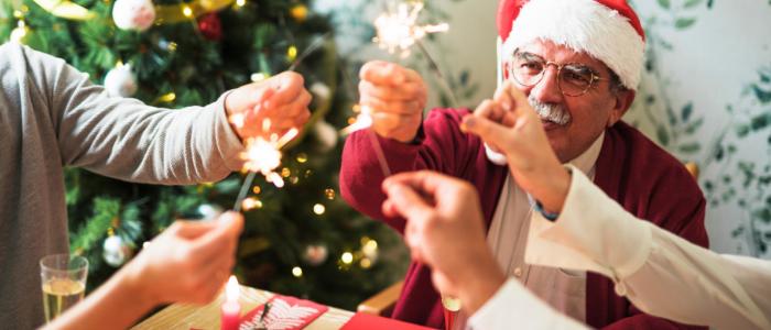 La Navidad y personas con Alzheimer